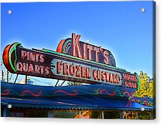 Kitts Frozen Custard Stand Acrylic Print
