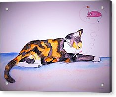 Kitty Cat Acrylic Print
