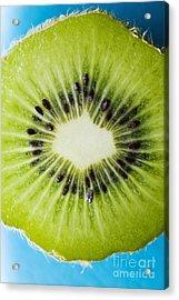 Kiwi Cut Acrylic Print by Ray Laskowitz - Printscapes