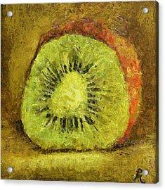 Kiwifruit Acrylic Print