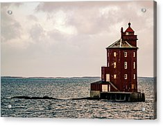 Kjeungskjaer Lighthouse Norway Acrylic Print