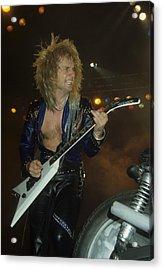 Kk Downing Of Judas Priest Acrylic Print