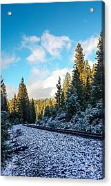 Kkkold 17 Degrees Acrylic Print by Jan Davies