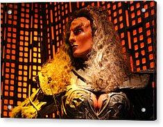 Klingon Acrylic Print by Kristin Elmquist