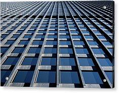 Kluczynski Federal Building Chicago Acrylic Print by Steve Gadomski