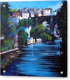 Knaresborough Viaduct Acrylic Print by Neil McBride