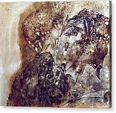 Knight 2 Acrylic Print by Valeriy Mavlo