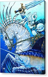 Knight Of Swords Acrylic Print