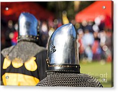 Knight Tournament Acrylic Print
