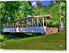 Knisley Covered Bridge #4 Acrylic Print
