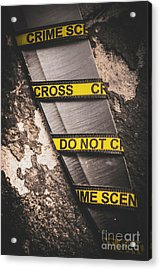 Knives And Clues Acrylic Print by Jorgo Photography - Wall Art Gallery