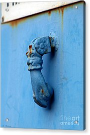 Knocker Face Acrylic Print