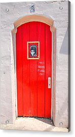 Knockin On Heaven's Door Acrylic Print by Steven Ainsworth