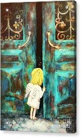 Knocking On Heaven's Door Acrylic Print
