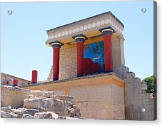 Knossos North Gate View Acrylic Print