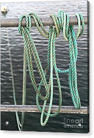 Acrylic Print featuring the photograph Knot Of My Warf II by Stephen Mitchell
