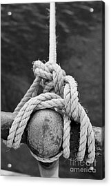 Acrylic Print featuring the photograph Knot On My Warf Iv by Stephen Mitchell