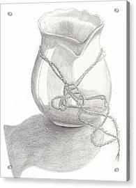Knots On Vase Study Acrylic Print