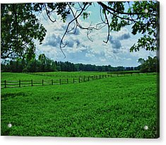 Knox Farm 1786 Acrylic Print by Guy Whiteley