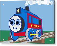 Knox The Engine Acrylic Print