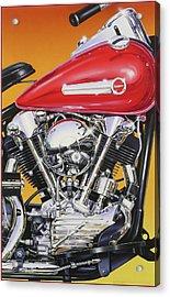 Knuckle Acrylic Print by Jack Knight