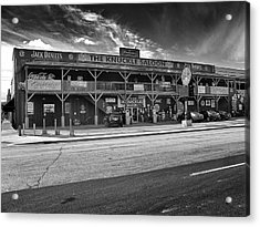 Acrylic Print featuring the photograph Knuckle Saloon Sturgis by Richard Wiggins