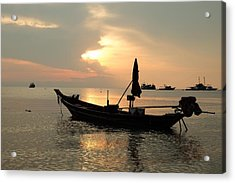 Ko Tao In Evening Acrylic Print