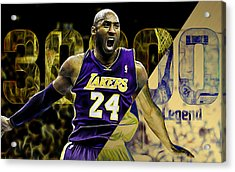 Kobe Bryant Collection Acrylic Print