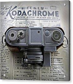 Kodachrome Weekly Acrylic Print by DJ Florek