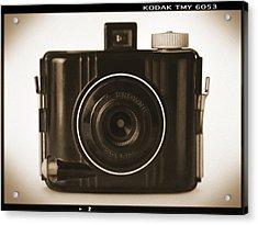 Kodak Baby Brownie Acrylic Print by Mike McGlothlen