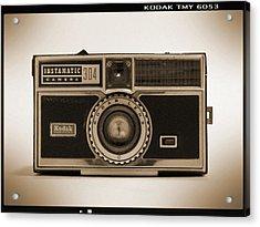 Kodak Instamatic Camera Acrylic Print by Mike McGlothlen
