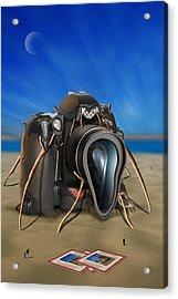 Kodak Meltdown 2 Acrylic Print by Mike McGlothlen