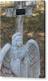 Kog Angel Acrylic Print by PhotoPhotopia Melody Fulton