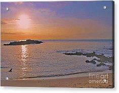 Kohala Sunset Acrylic Print