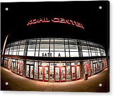 Kohl Center Curves Acrylic Print by Todd Klassy