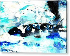 Koi Abstract 2 Acrylic Print