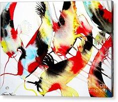 Koi Dance Acrylic Print
