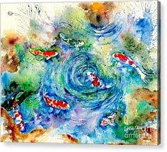 Koi Joy Acrylic Print