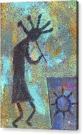 Kokopeli Acrylic Print
