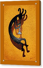Kokopelli Golden Harvest Acrylic Print