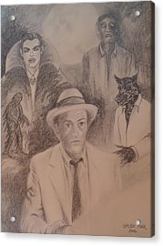 Kolchak, The Night Stalker Acrylic Print by Galen Foor