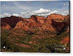 Kolob Canyon Zion Np Acrylic Print