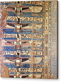 Kom Ombo Ceiling Painting Acrylic Print
