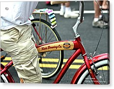 Kona Beer Bike Acrylic Print