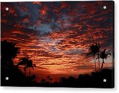 Kona Fire Sky Acrylic Print