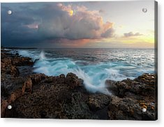 Acrylic Print featuring the photograph Kona Gold by Ryan Manuel