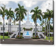 Kona Hawaii Temple-day Acrylic Print