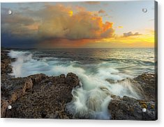 Acrylic Print featuring the photograph Kona Rush Hour by Ryan Manuel