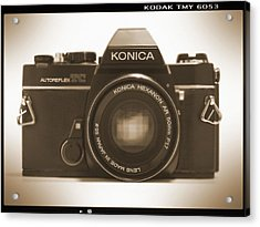 Konica Tc 35mm Camera Acrylic Print