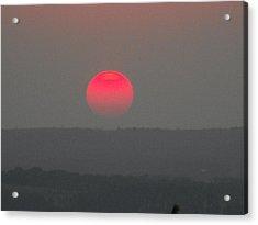 Konza Sunset Acrylic Print